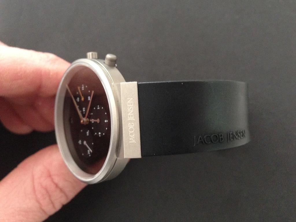 [Vendo] Relógio Jacob Jensen Chronograph 600 Titanio - Quase Novo 4_IMG_6001