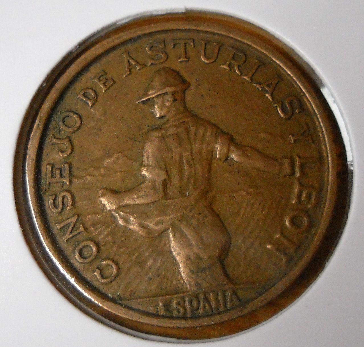1 peseta 1937 Guerra Civil - Consejo de Asturias y Leon  DSCN0044