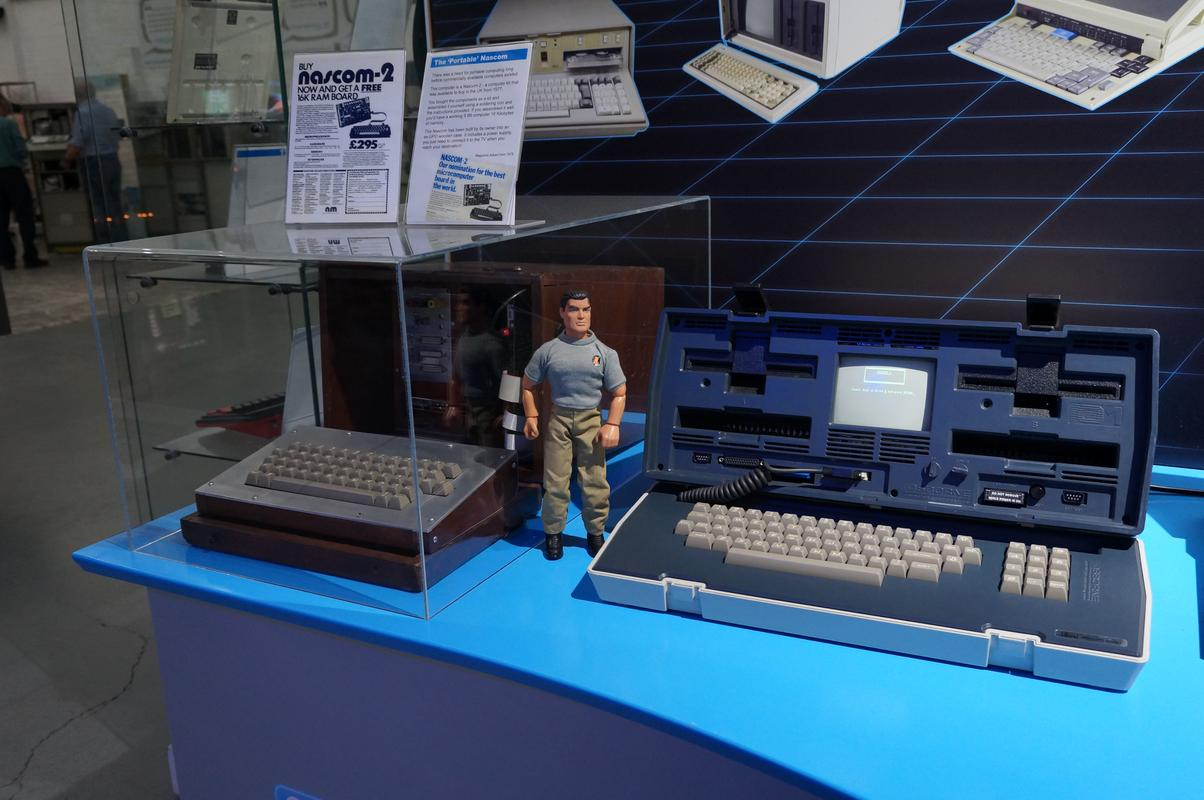 My MAM visiting  Cambridge Computer History Museum. 7_FD2_F31_D-8_E84-4336-_B619-3_FAD232260_F6