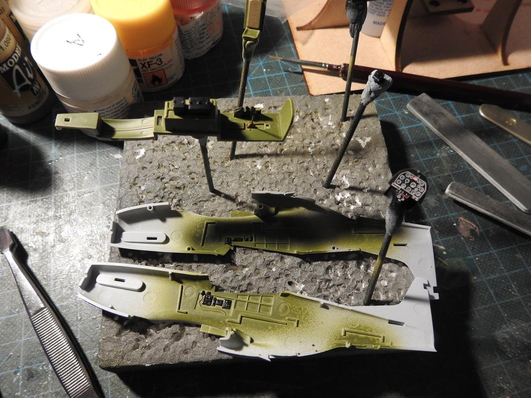 North American F-51D Mustang, Airfix, 1/72 DSCN5655