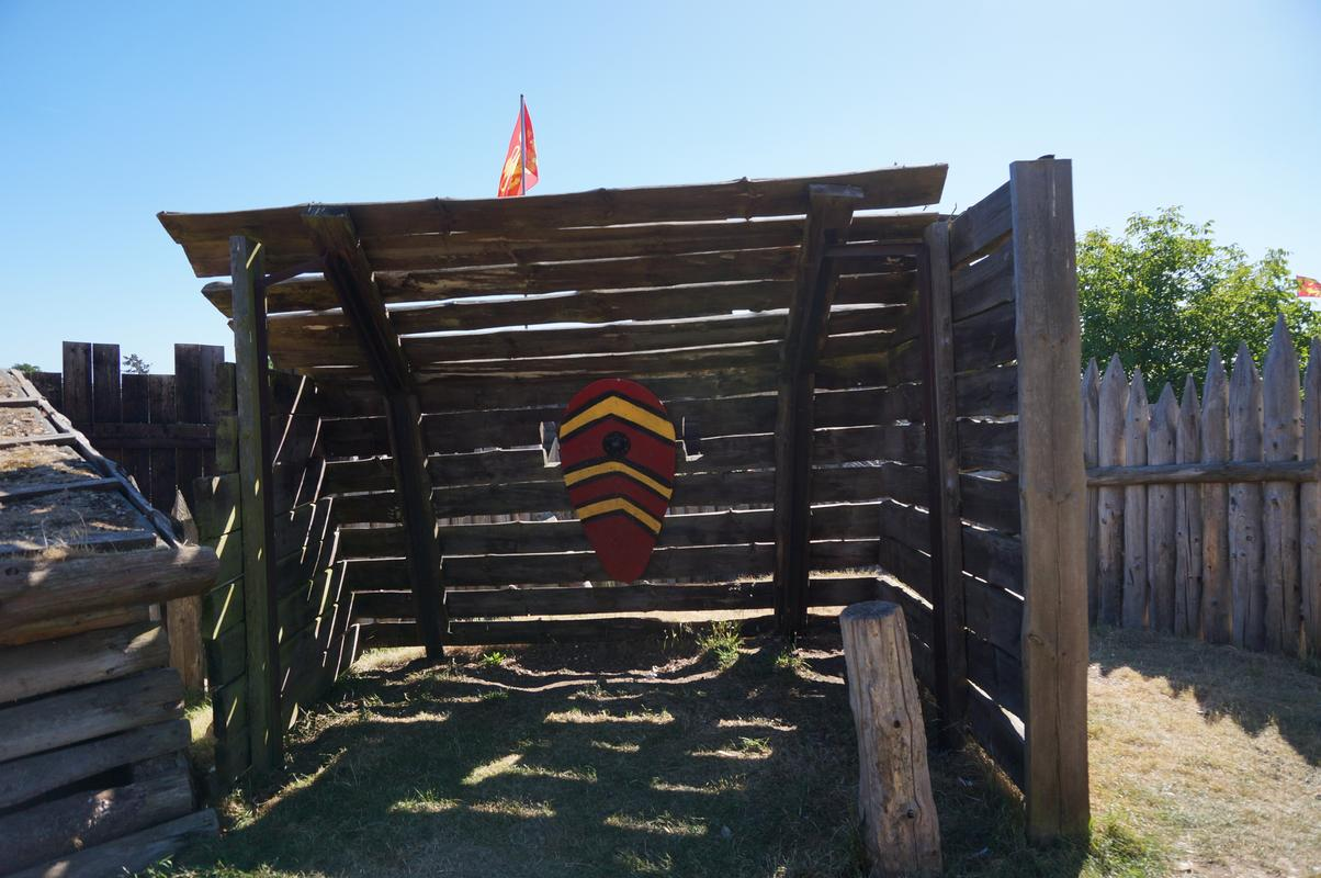 My MAM visiting Mountfitchet Castle. D2811069-1_FE8-4_BC3-_BEA4-595_A2839_A1_A2