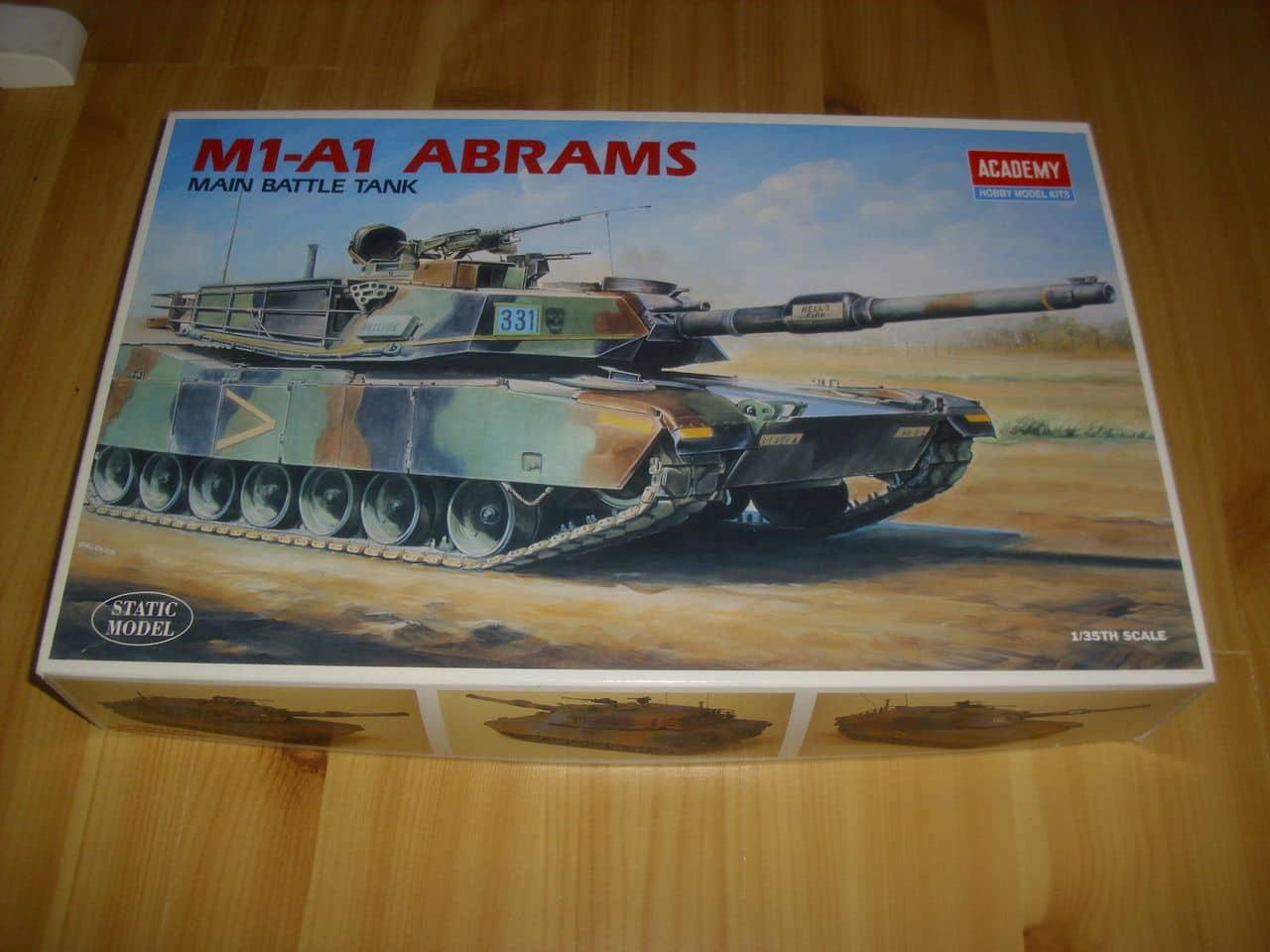M1A1 Abrams 1/35 - Academy DSCI0699