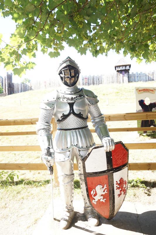 My MAM visiting Mountfitchet Castle. FE0_BB572-946_F-4273-9421-0379_B02_C5296