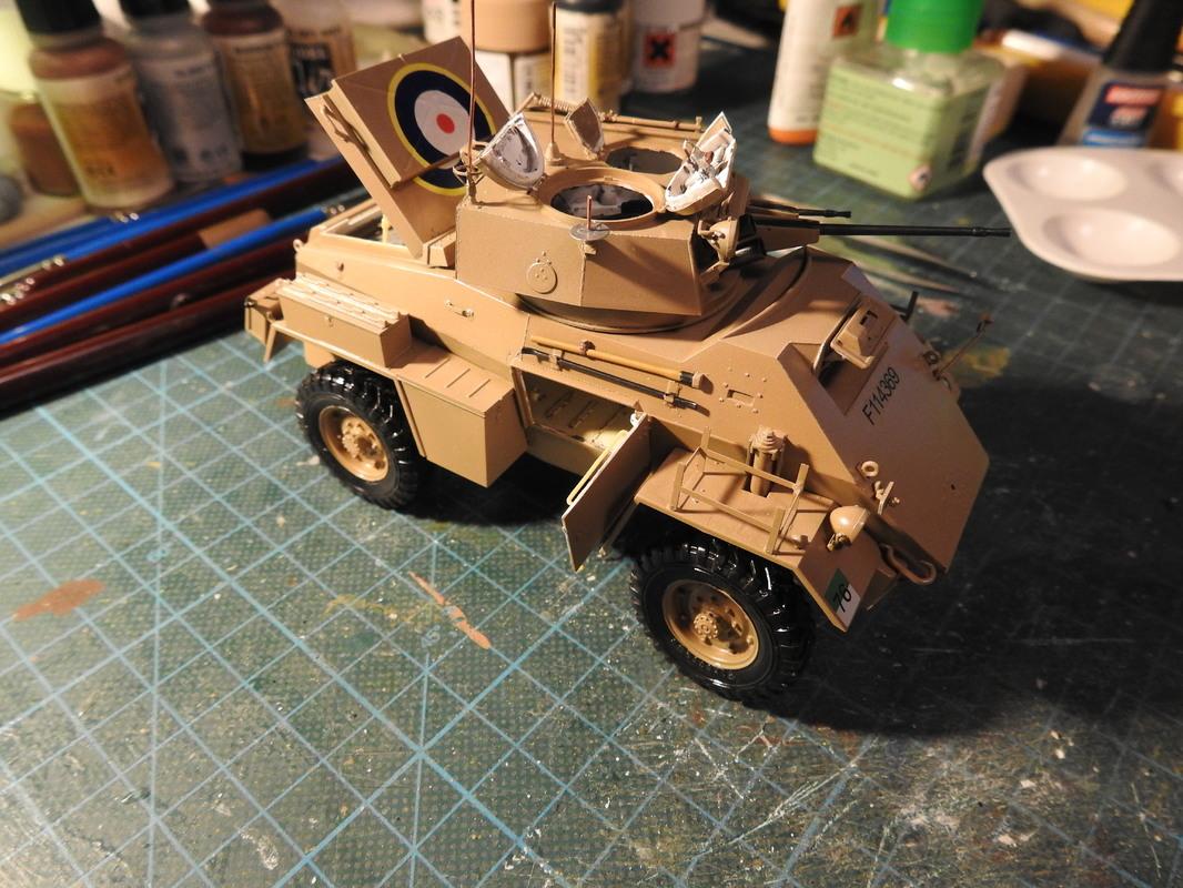 Humber Mark II, Bronco 1/35 - Sida 9 DSCN3421