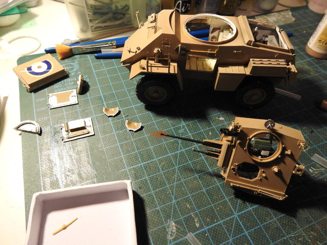 Humber Mark II, Bronco 1/35 - Sida 8 DSCN3395