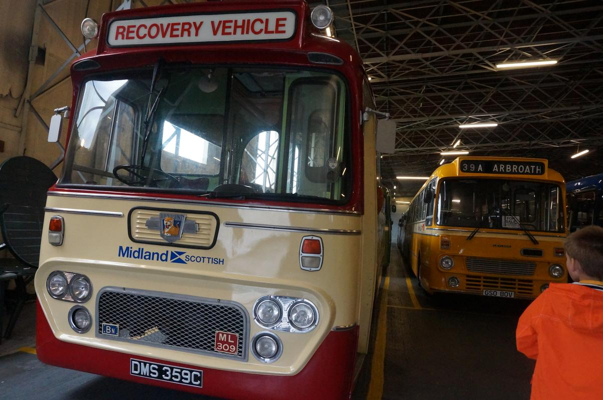 MAM visiting The Scottish Vintage Bus Museum. F47_FB222-_B555-4_C5_D-9_AB0-_D235_F730_CEEA