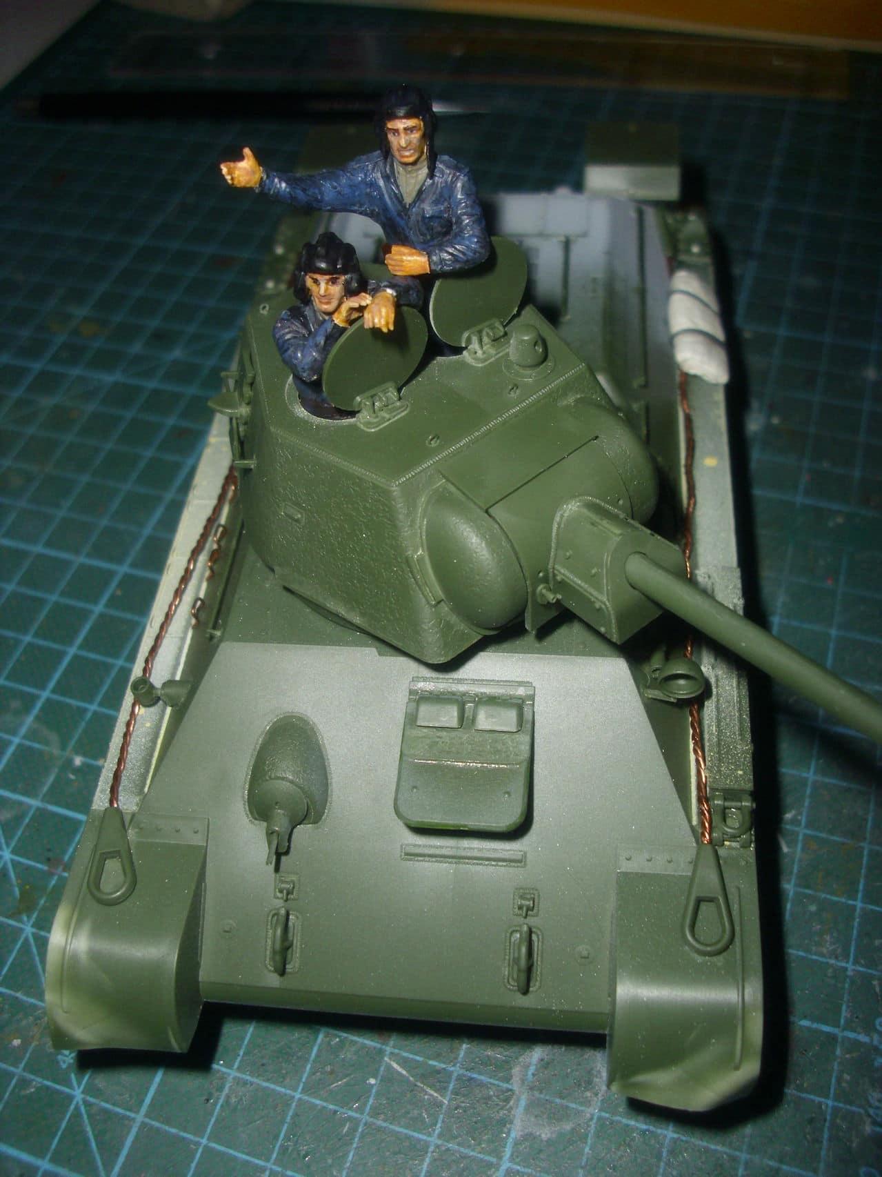 T-34/76 1943 early model. ICM 1/35 - Sida 4 DSCI0662