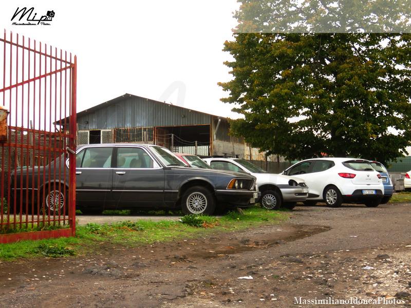 Auto Abbandonate Bmw_E23