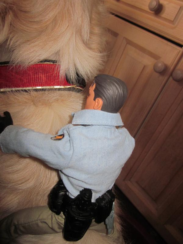 My Action Man Riding the dog. (Ackie88) IMG_2252