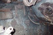 Танк КВ-1 изнутри (№ 9854), Ропша, Ленобласть. P6230104