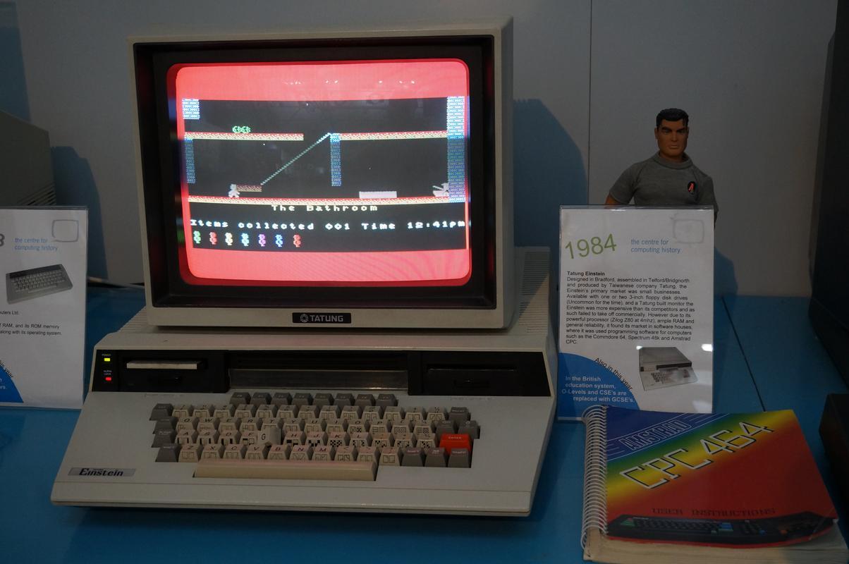 My MAM visiting  Cambridge Computer History Museum. BEE585_D7-21_DD-431_A-_A9_E9-5_F20_F1061_ACA