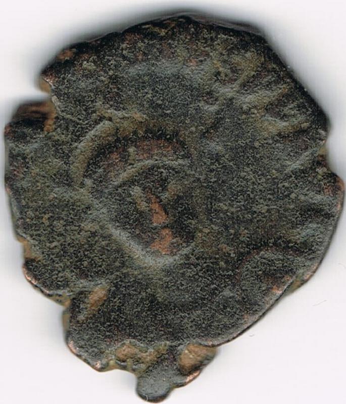 AE3 de Teodosio II. CONCORDIA AVGG. IR23a