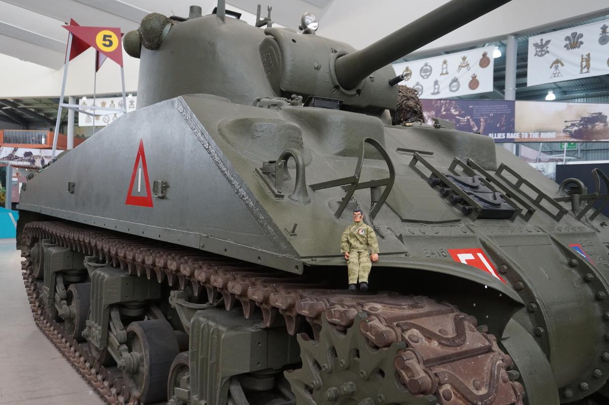 Action Man at Bovington Tank Museum 2016 photos. DSC01229