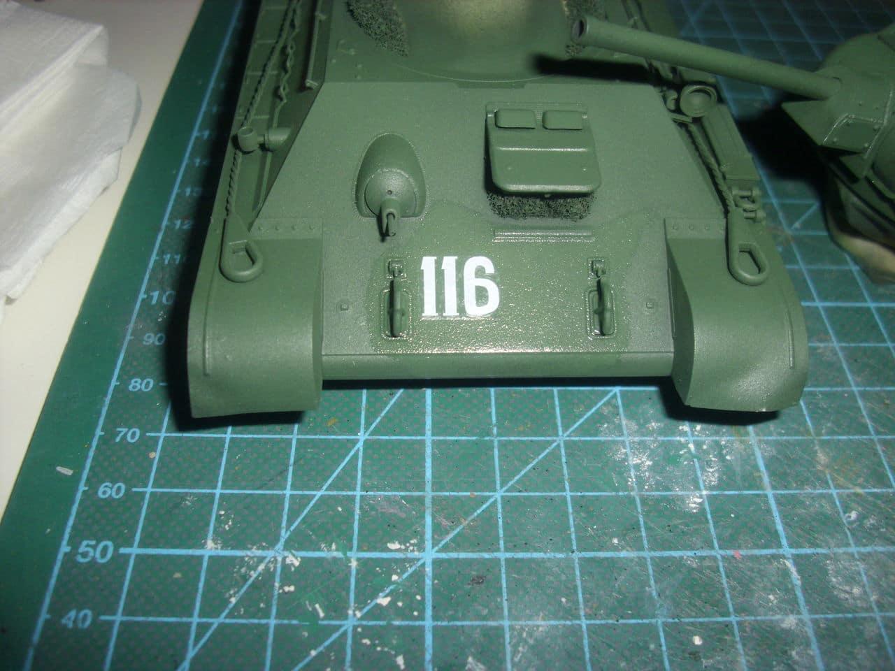 T-34/76 1943 early model. ICM 1/35 - Sida 4 DSCI0720