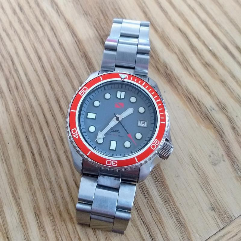 New dial and chapter ring for SKX007 (photo heavy) IMG_20180619_132008805