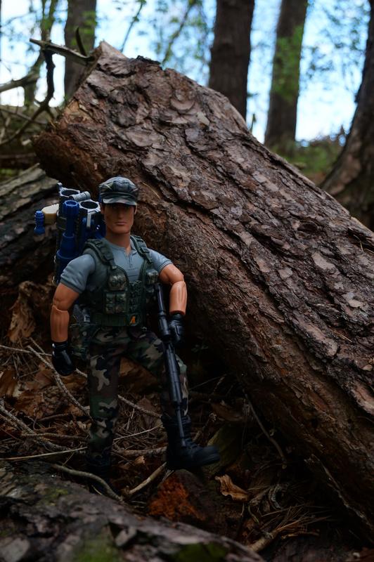 My Action Man Mortar Combat Mission Raid Random Woodland Photos DSC00696