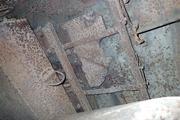 Танк КВ-1 изнутри (№ 9854), Ропша, Ленобласть. P6230291