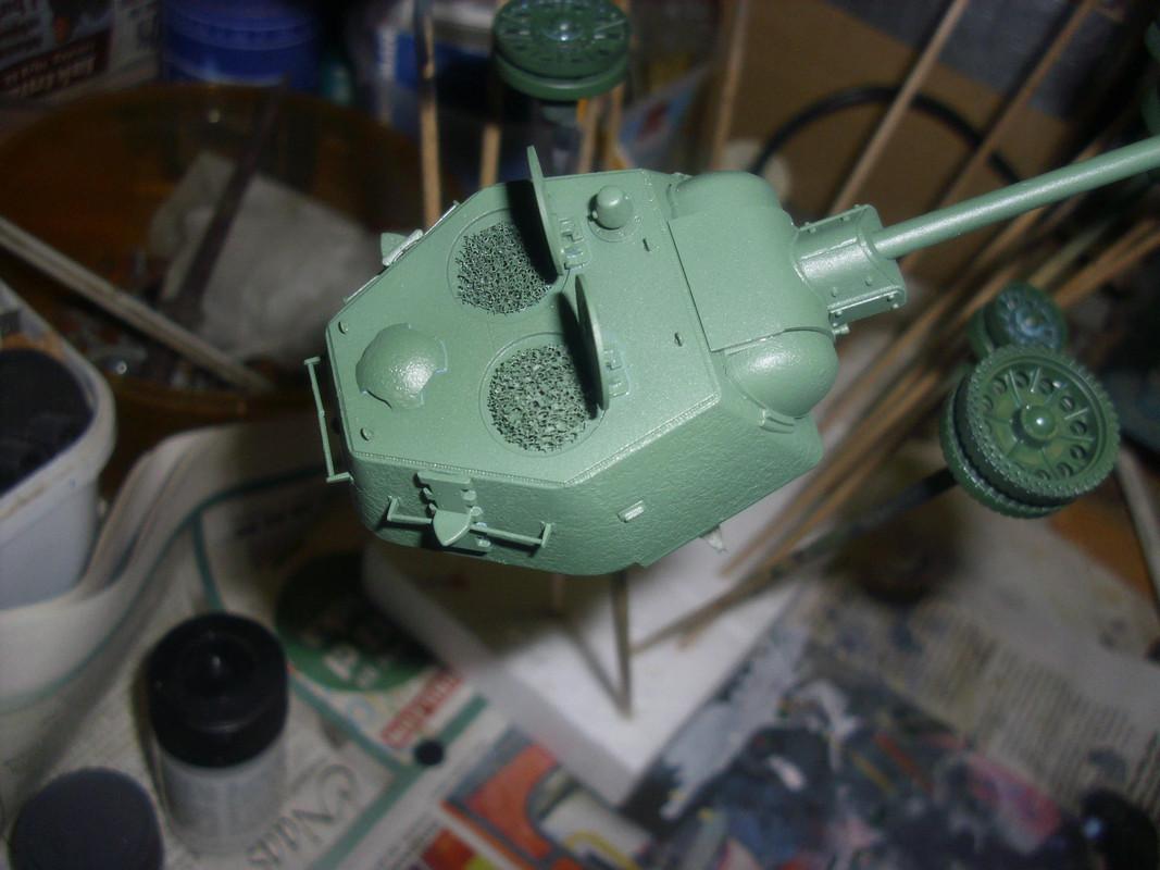 T-34/76 1943 early model. ICM 1/35 - Sida 4 DSCI0714
