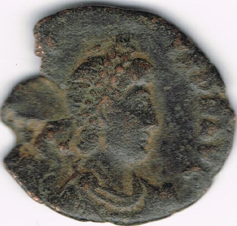AE3 tipo VIRTVS EXERCITI Victoria coronando al Emperador IR30a