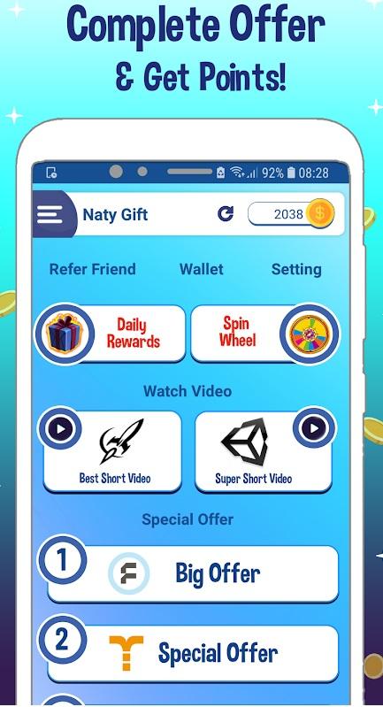 [ SCAM ] NATYGIFT - Bónus Diário, Roleta, Vídeos e Apps - RECEBIDO » $ 1,00 NG1