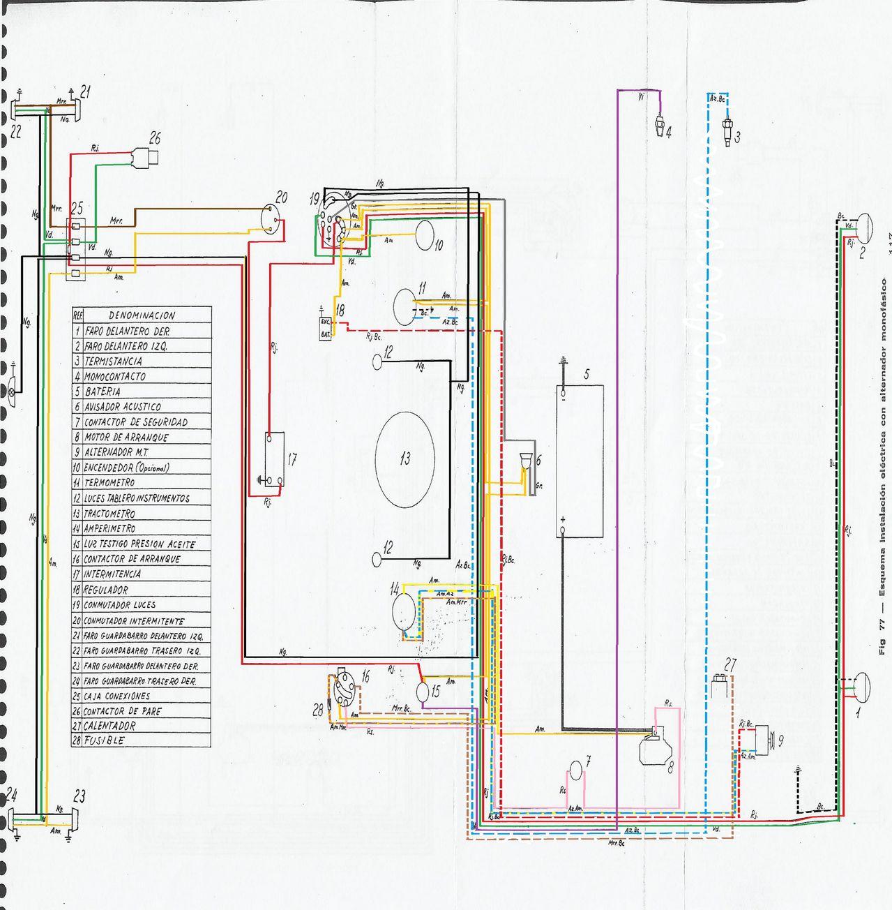 Mf 135 ebro instalaci n electrica - Cable instalacion electrica ...