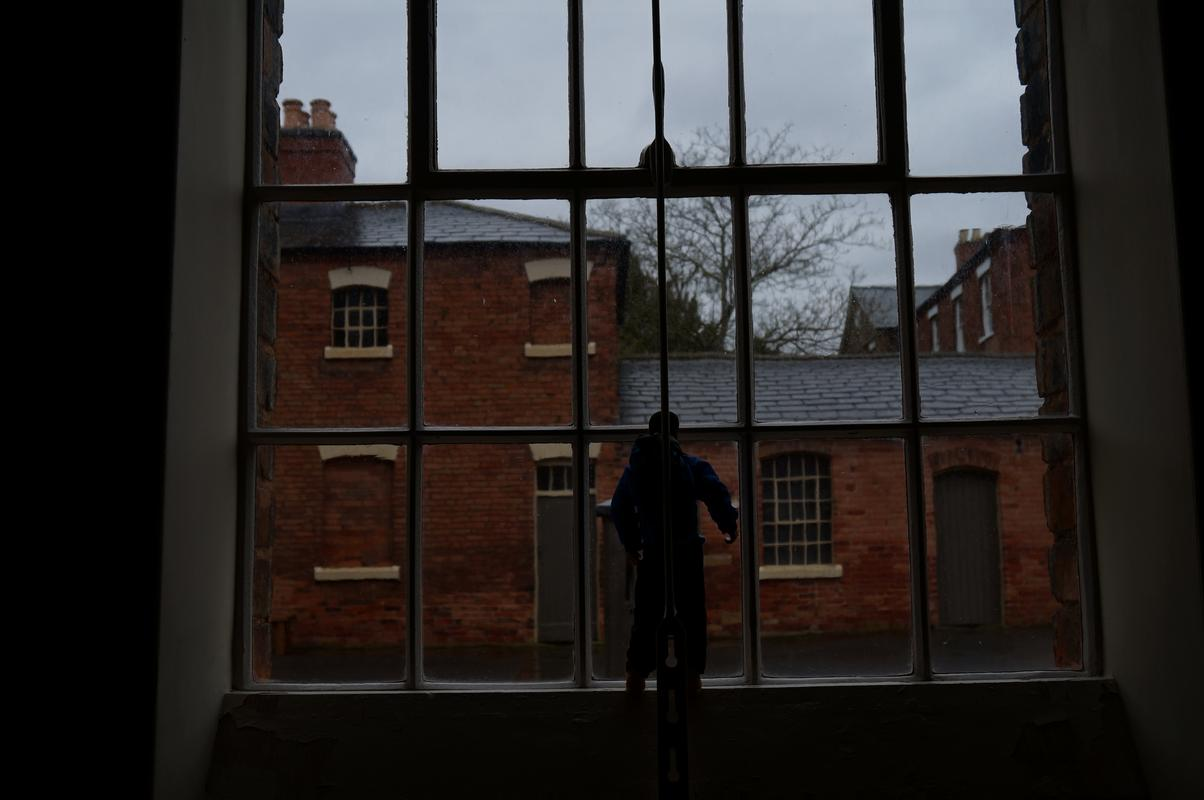 My Modern Action Man visiting  Southwell Workhouse DSC00175
