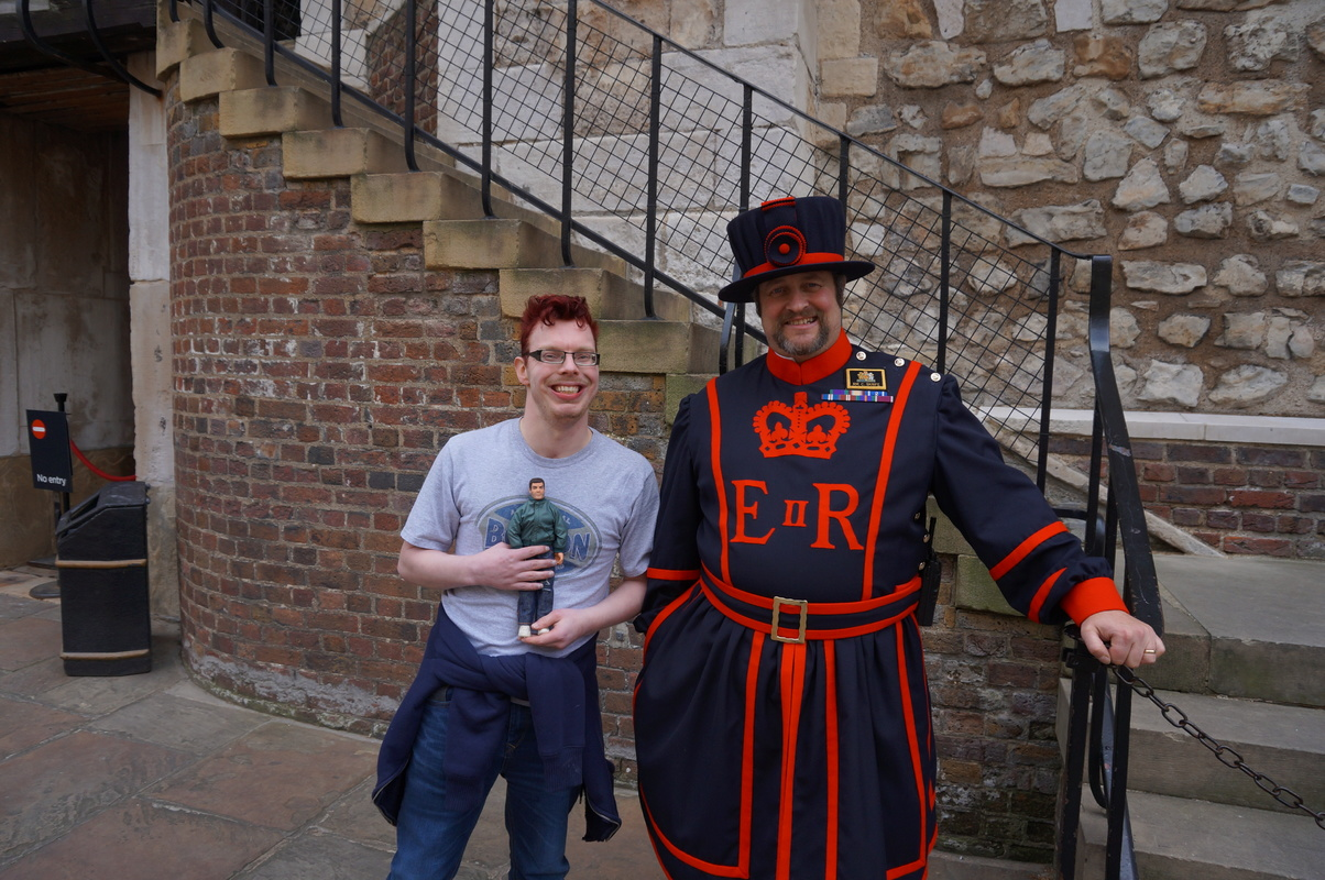 My Action Man at the Tower of London Photos 2015. DSC00815