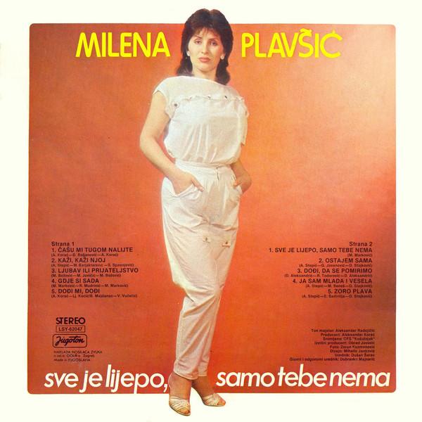 Milena Plavsic - Diskografija Milena_Plavsic_1985_Sve_Je_Lijepo_Samo_Tebe