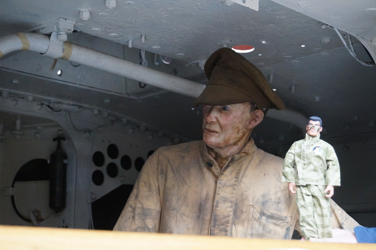 Action Man at Bovington Tank Museum 2016 photos. DSC01200