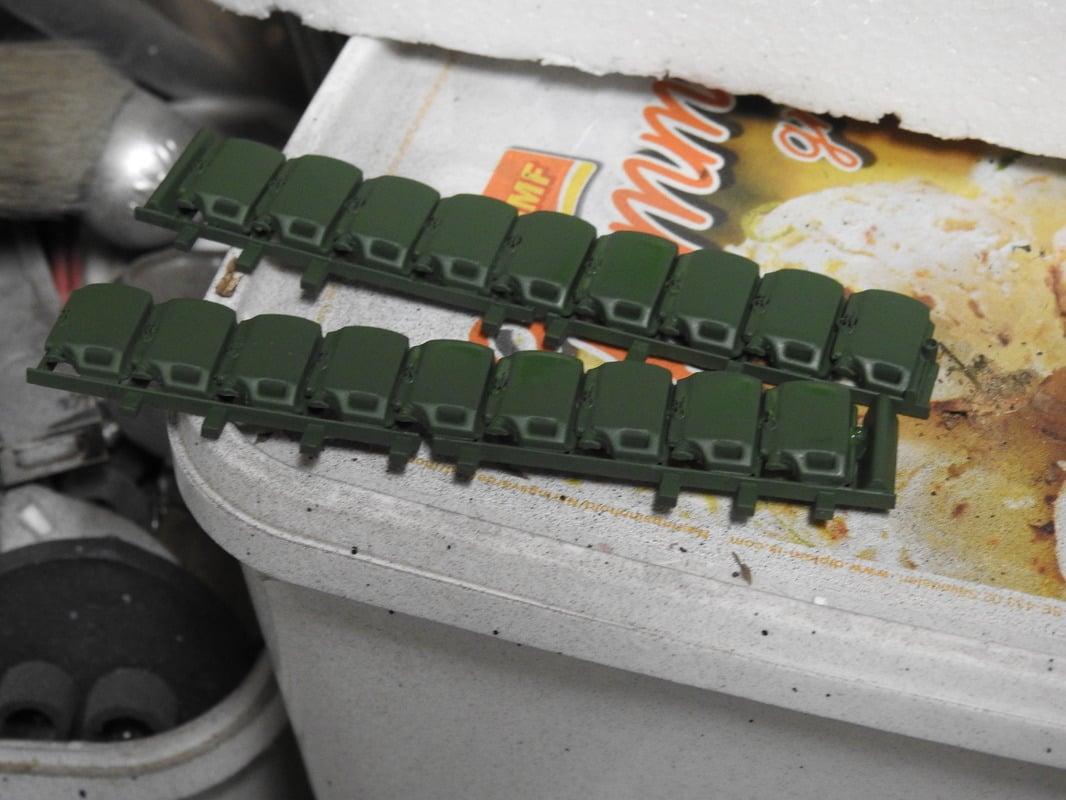 Strv 103C, Trumpeter 1/35 - Sida 2 DSCN1785