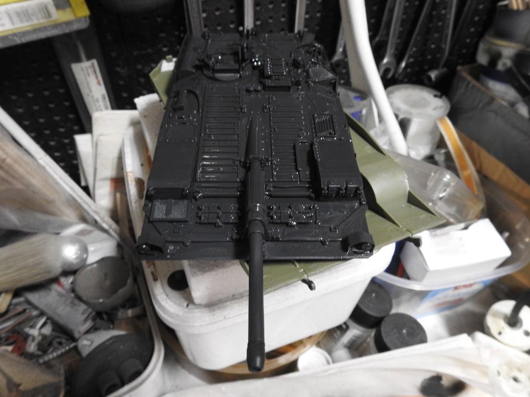 Strv 103C, Trumpeter 1/35 - Sida 2 DSCN1744