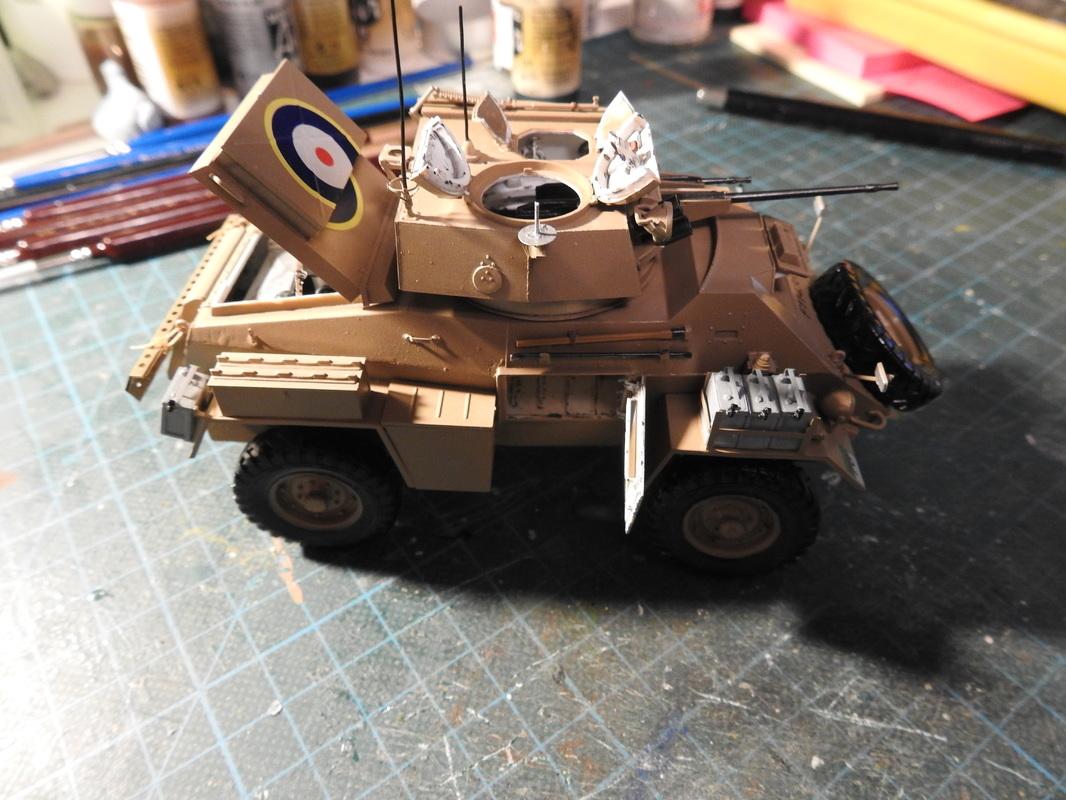 Humber Mark II, Bronco 1/35 - Sida 9 DSCN3457