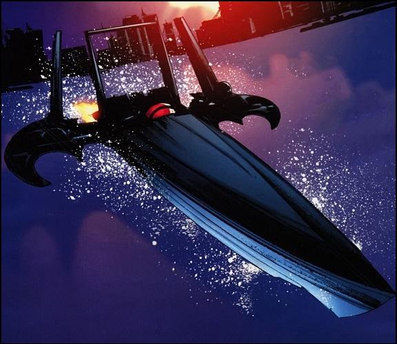 Ficha de Batman Batboat