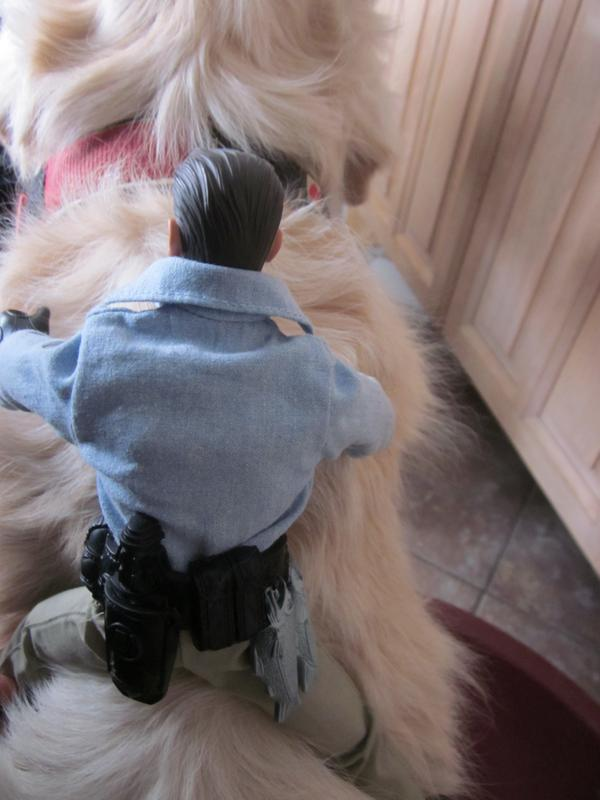 My Action Man Riding the dog. (Ackie88) IMG_2253