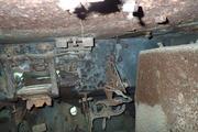 Танк КВ-1 изнутри (№ 9854), Ропша, Ленобласть. P6230305