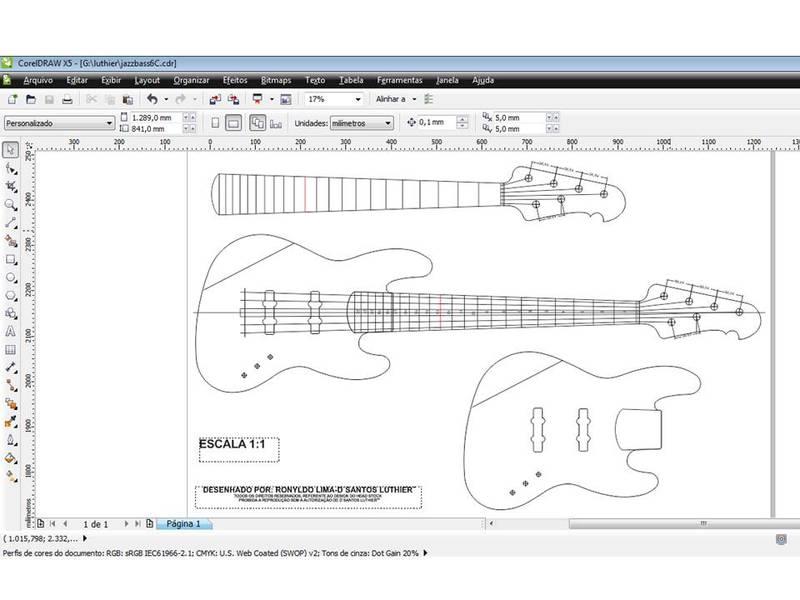 construção de um jazz bass 6 cordas JBS6_C