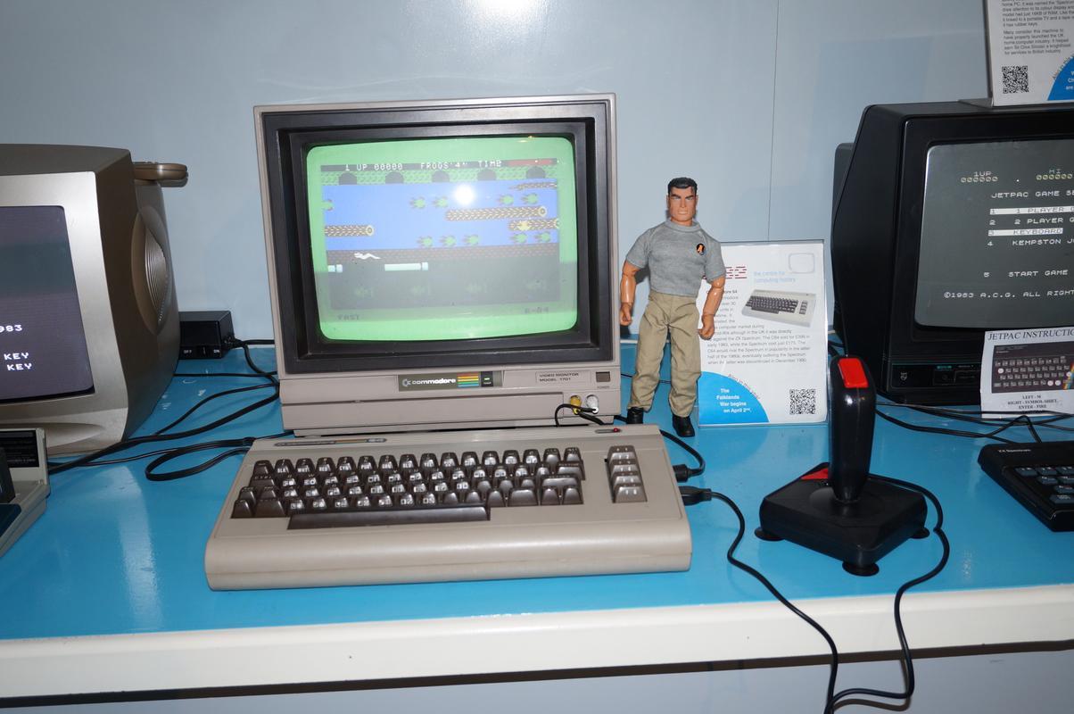 My MAM visiting  Cambridge Computer History Museum. 75_F3_D07_C-_B42_C-40_C8-9_E7_D-8685066_F379_D