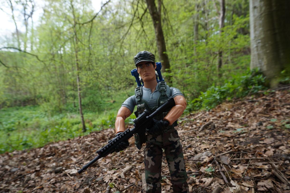 My Action Man Mortar Combat Mission Raid Random Woodland Photos DSC00693
