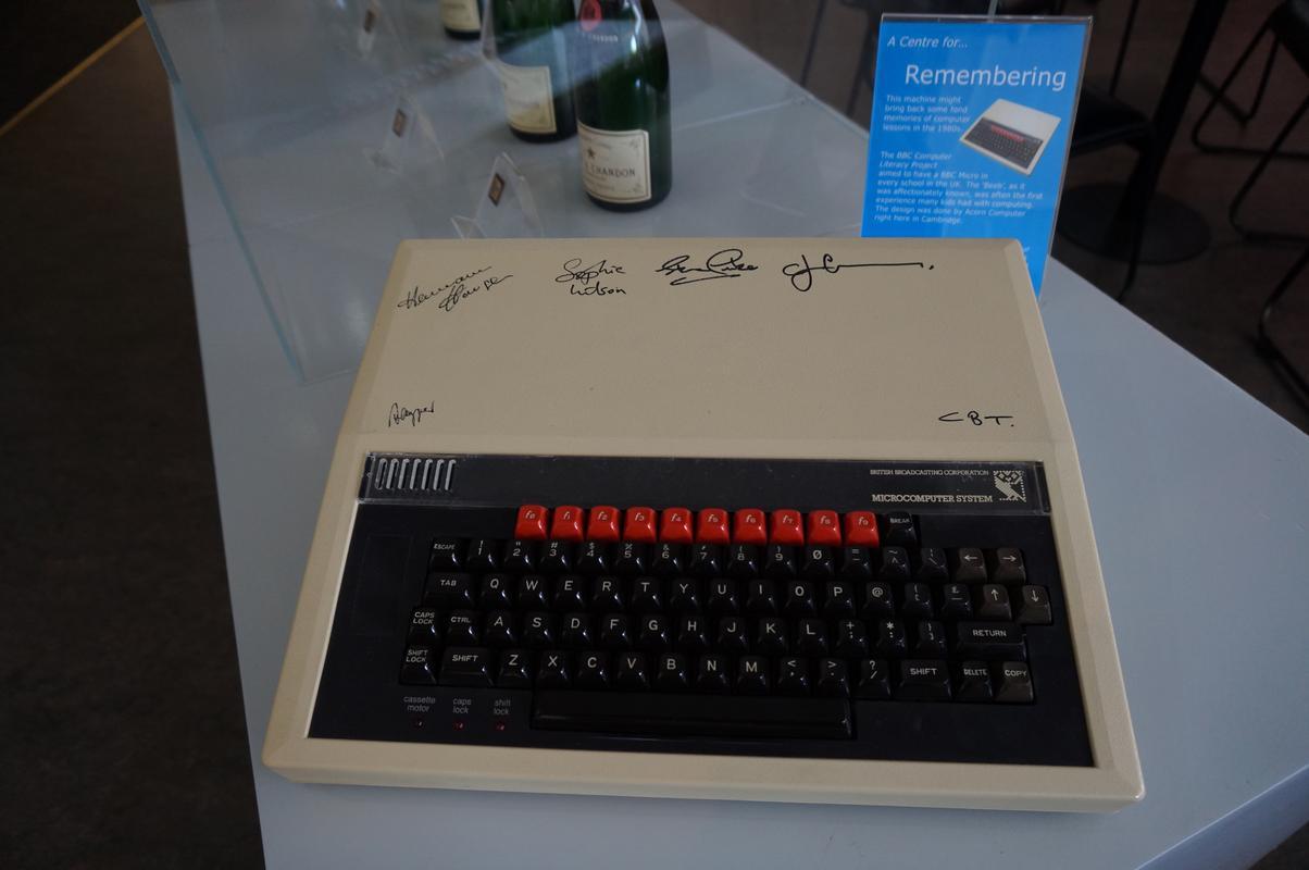 My MAM visiting  Cambridge Computer History Museum. B77757_FE-40_F7-40_AD-91_D9-_ED106593_F8_A6