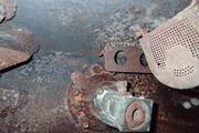 Танк КВ-1 изнутри (№ 9854), Ропша, Ленобласть. P6230237