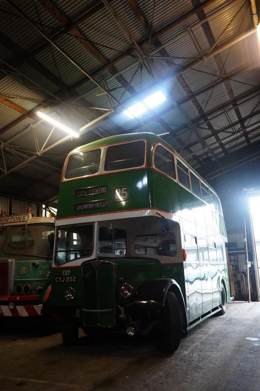 MAM visiting The Scottish Vintage Bus Museum. 9272_F29_D-7554-4_D31-_B881-8_ECB8865886_E
