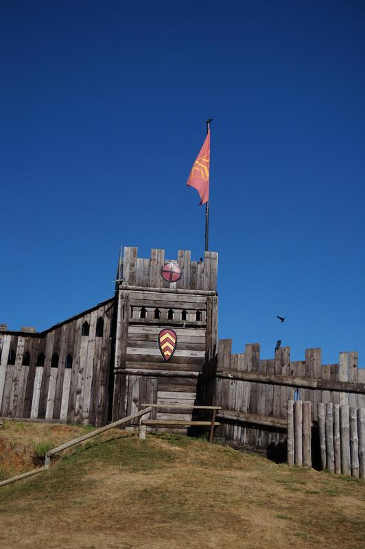 My MAM visiting Mountfitchet Castle. F6_C50050-_A537-4856-_BEEF-91_FD24_B5_E769
