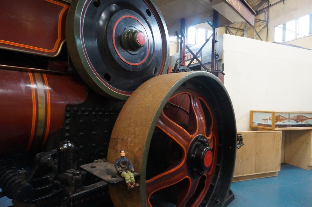 MAM visiting The Scottish Vintage Bus Museum. A974_C4_CB-2751-46_AD-8287-3_F0_C506_B4_F02