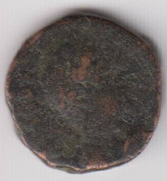 AE3 tipo VIRTVS EXERCITI. Emperador siendo coronado por Victoria. Antioch. Ir237a