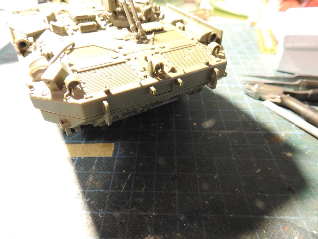 Strv 103C, Trumpeter 1/35 - Sida 2 DSCN1734