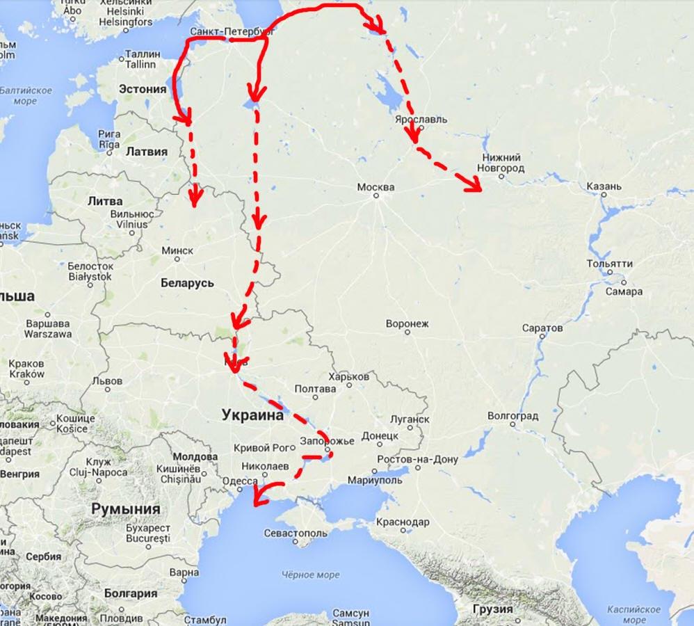 """Хронология + Локализация + """"Катастрофа 1500""""  - Страница 2 Rurik_4"""
