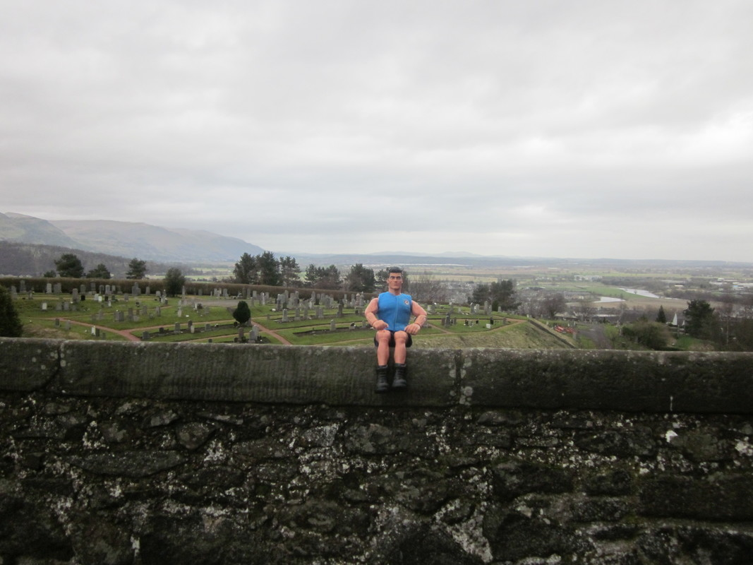 My MAM at Stirling castle  (Ackie88) IMG_1359