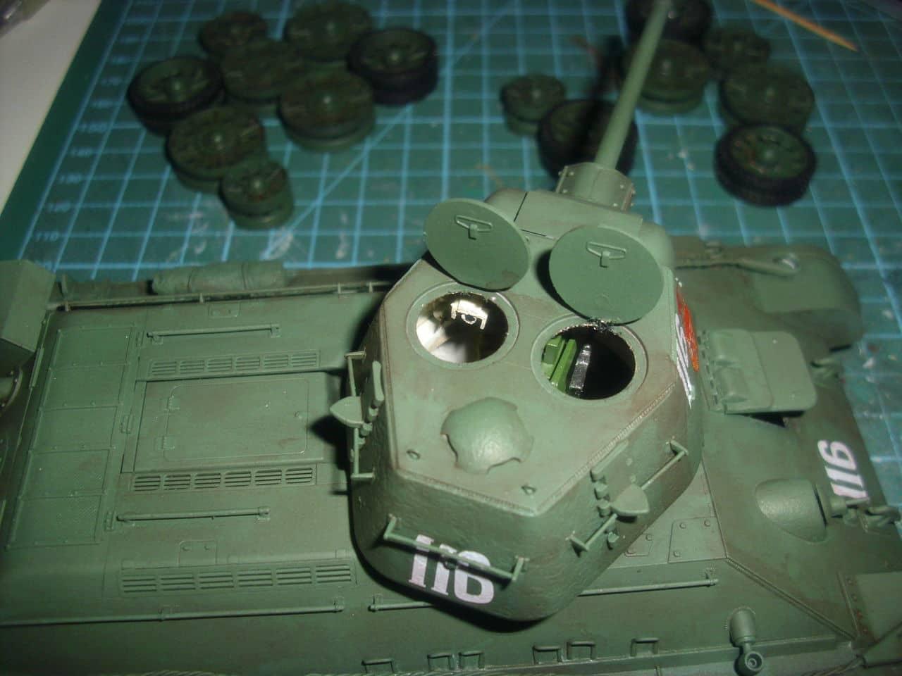 T-34/76 1943 early model. ICM 1/35 - Sida 4 DSCI0740
