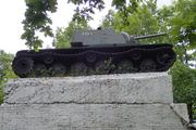 Танк КВ-1 изнутри (№ 9854), Ропша, Ленобласть. P6230367