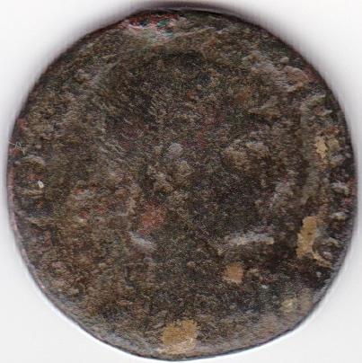 AE3 de Constantino I. GLORIA EXERCITVS. Soldados entre 2 estandartes. Nicomedia IR95_A